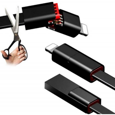 Многоразовый USB-кабель для iPhone / Micro USB / Type C