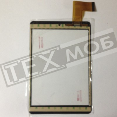 Тачскрин 197x132mm 45pin XN1308, XN1308V2, FPCA-7904-V01, TCLHCTP-355A Черный