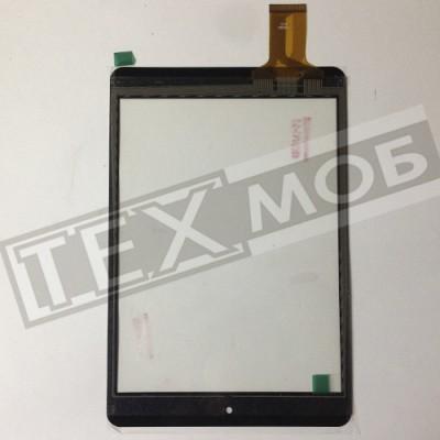 Тачскрин 197x132mm 40pin FM801101KE, MF-500-079F-3 FPC, F0490 KDX, F0639 KDX Черный