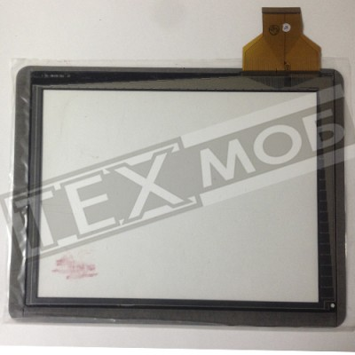 Тачскрин 236x183mm 54pin E-C970101-01, TPC-50146-V1.0, CTP-9.7-001, E-97011-01 Черный