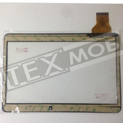 Тачскрин 240x162mm 50pin YLD-CEGA300-FPC-A0, YCG-C10.1-182B-01-F-01, ZJ-10019A Черный