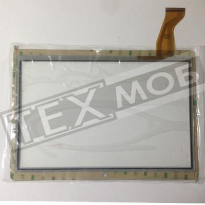 Тачскрин 237x167mm 50pin MJK-0607-V1 FPC БЕЛЫЙ