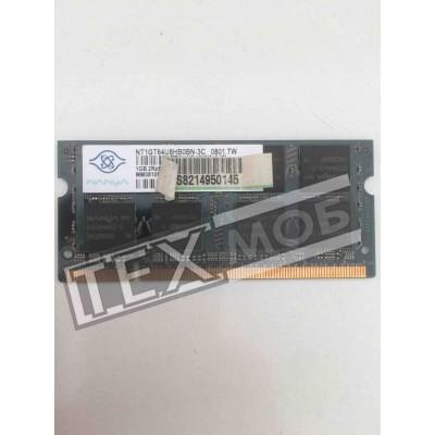 Оперативная память Nanya 1GB 2Rx8 PC2-5300S-555-12-F1.667 DDR 2