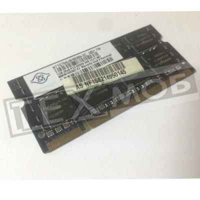 Оперативная память NANYA 1GB 2Rx8 667 PC2-5300S-555-12-F1 667Mhz DDR2