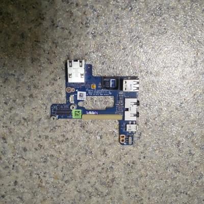 Аудио плата с кнопкой включения Dell Latitude E6510 LS-5572P
