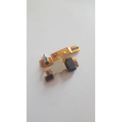 Шлейф с аудио-разъемом и вибромотором Nokia XL DUAL SIM (RM-1030)