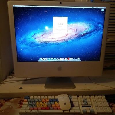 "Apple iMac Late 2006 Intel Core 2 Duo (2016 Review) 24""  iMac 6.1"