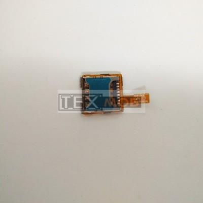 Шлейф с сим коннектором Samsung N7502 Galaxy Note3 Neo