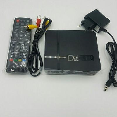 Цифровой ТВ-ресивер T2 с Экраном FulHD 1080